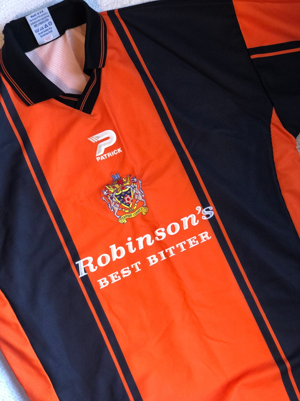 Image of Replica 1999/00 Patrick Away Shirt