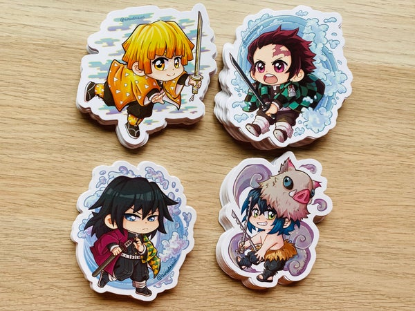 Image of Kimetsu no Yaiba Stickers