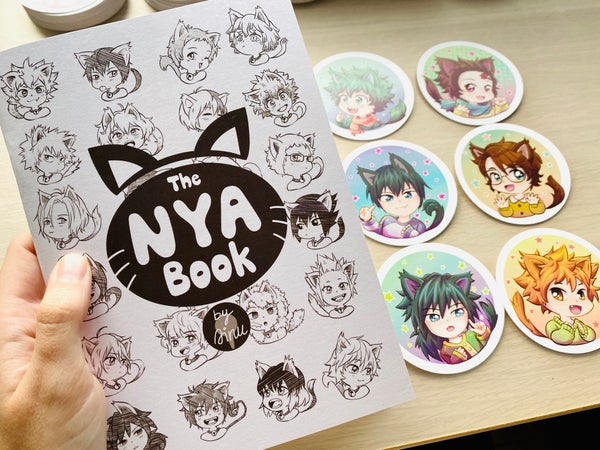 Image of The Nya Book + Nya Stickers