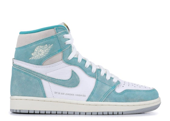 "Image of Air Jordan 1 Retro High OG ""Turbo Green"""