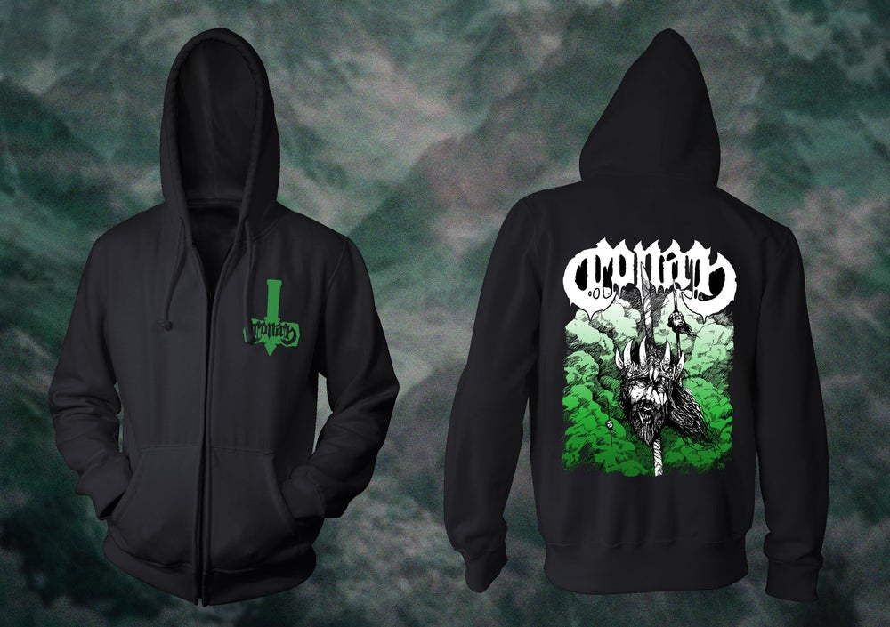 Image of ***SPECIAL EDITION*** BLOOD EAGLE ZIPPER HOODIE