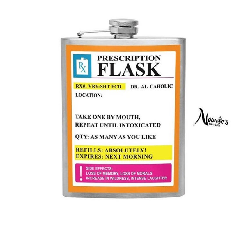 Image of Just what the dr ordered flask