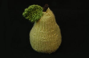 Image of Knitted Pear