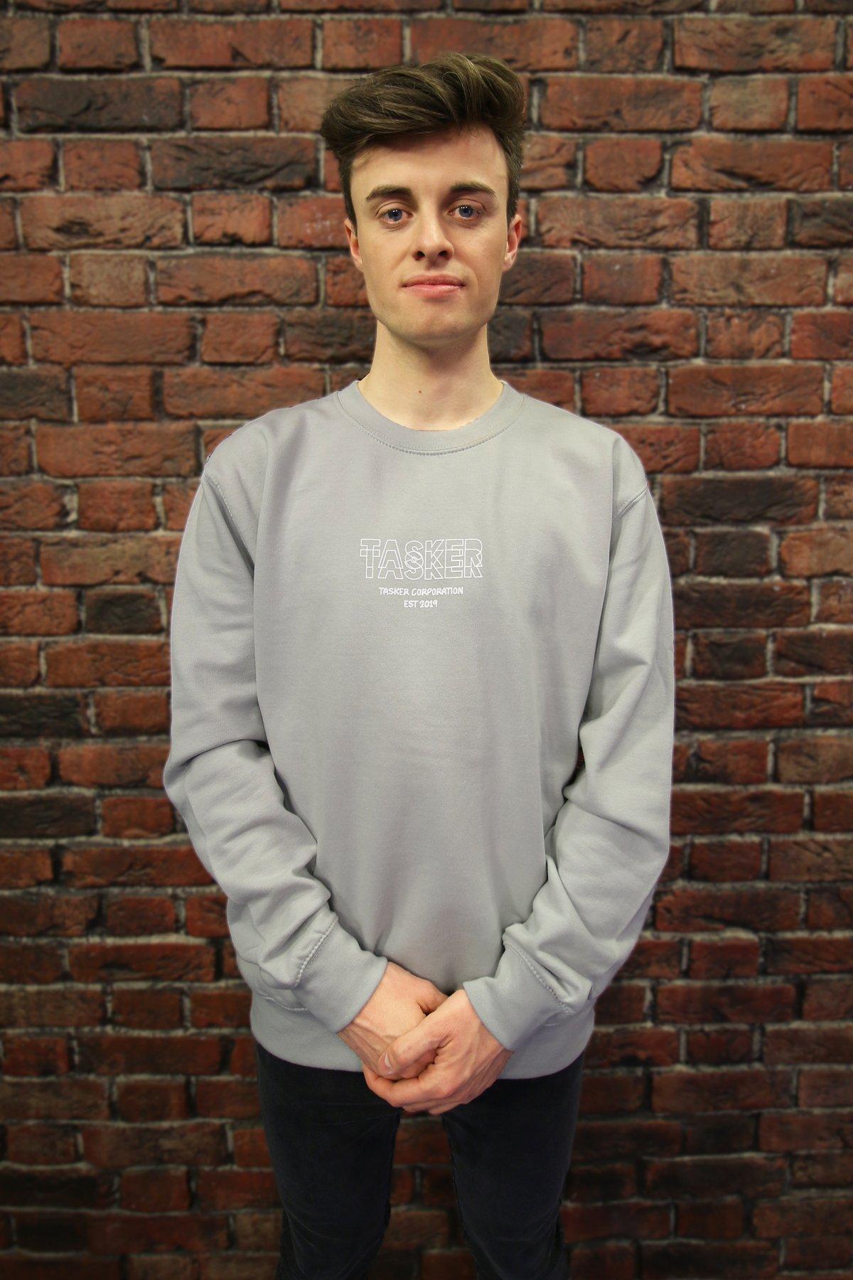 Image of Grey 'Tasker' Sweatshirt
