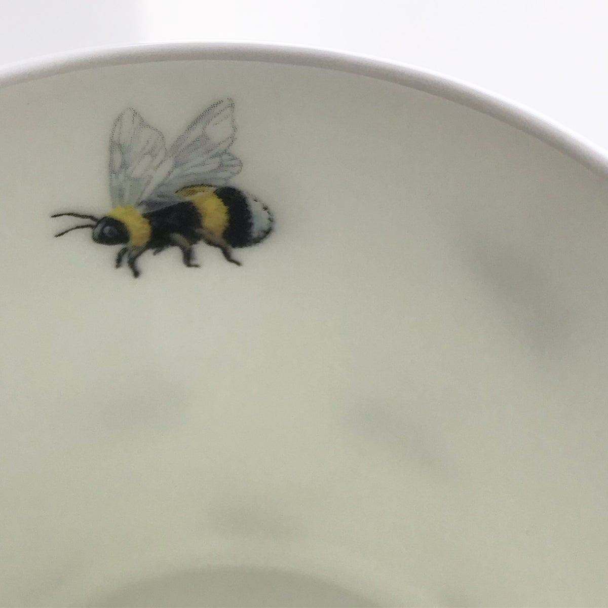 Image of BUMBLE BEE BONE CHINA MUG