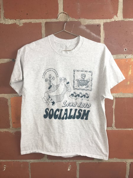 Image of Lean into Socialism T-shirt