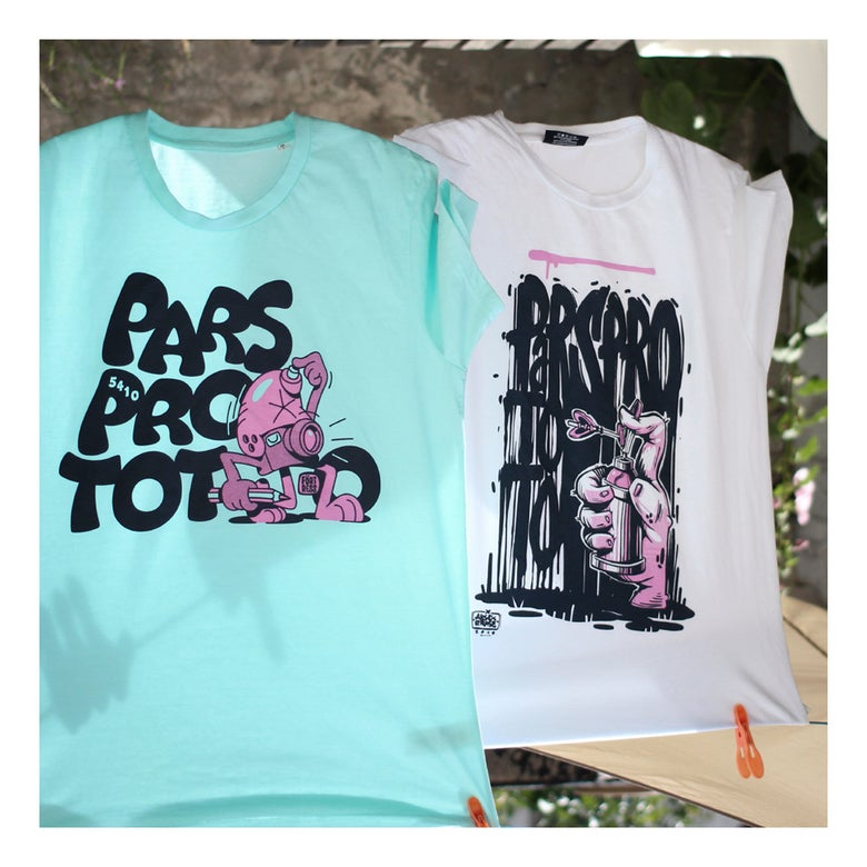 Image of .parsprototo | t-shirt by arsek/erase & flying fortress *