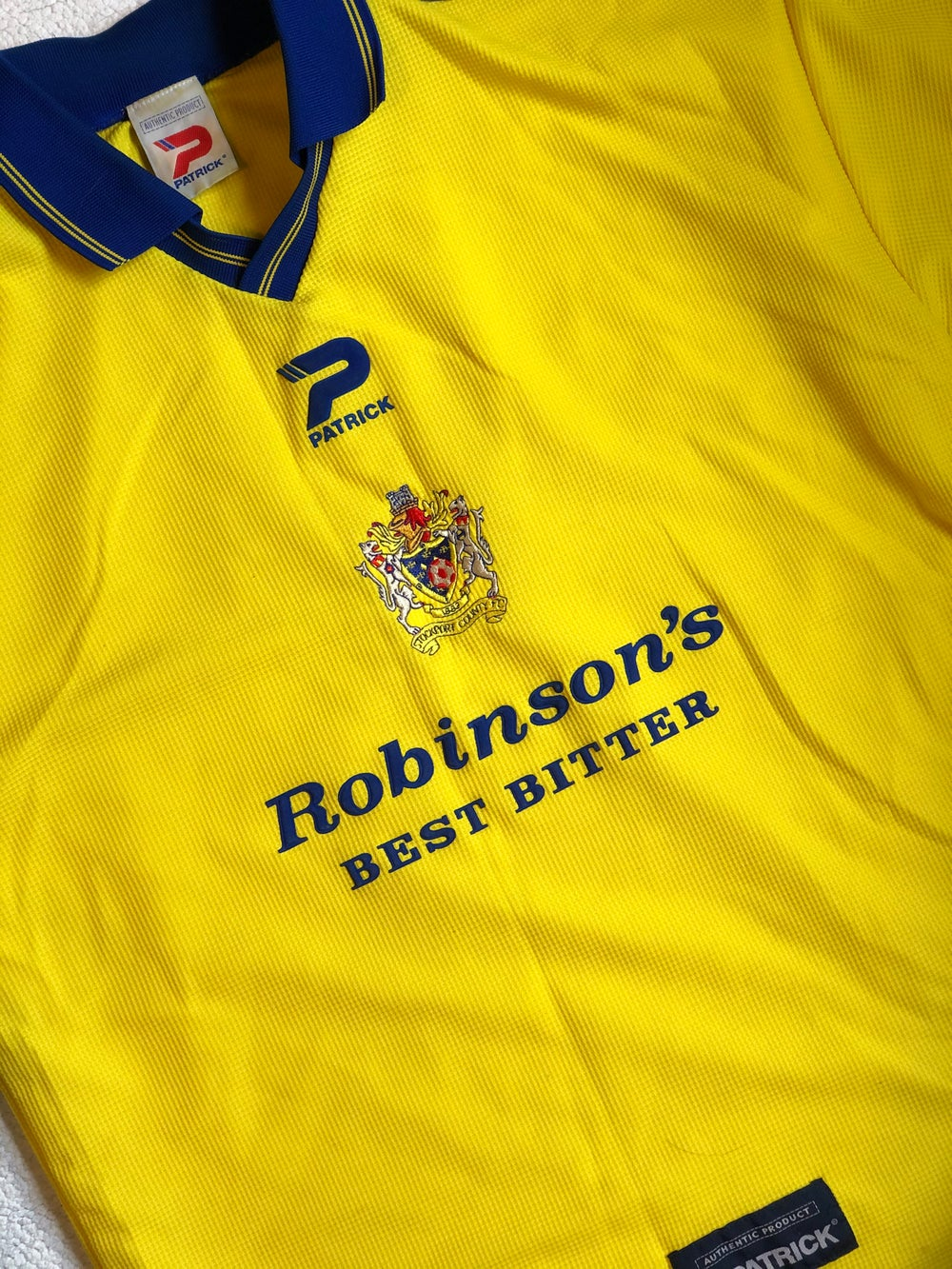 Image of Replica 2000-02 Patrick Away Shirt