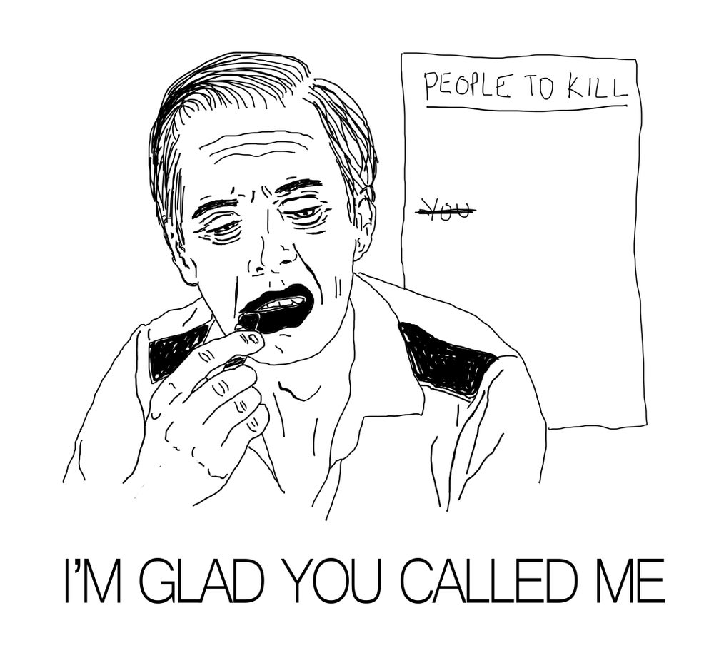Image of Glad You Called Card