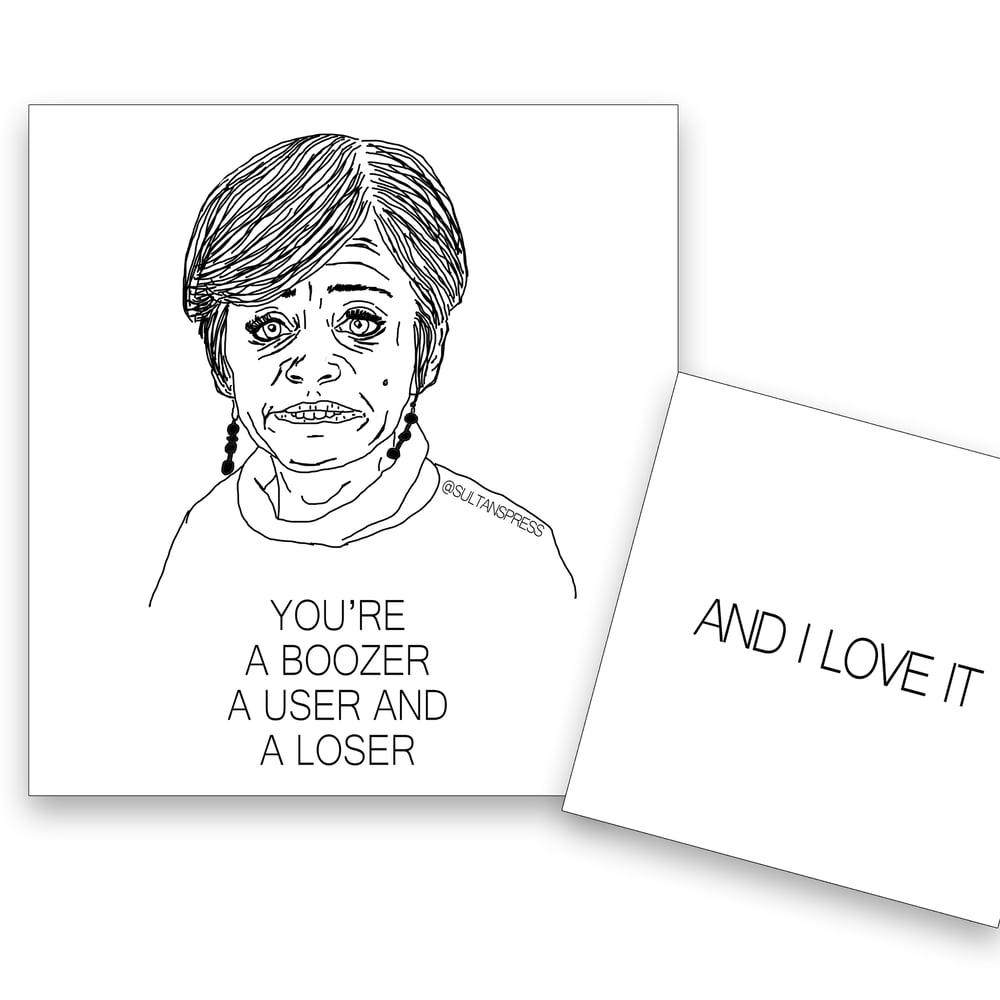 Boozer Card