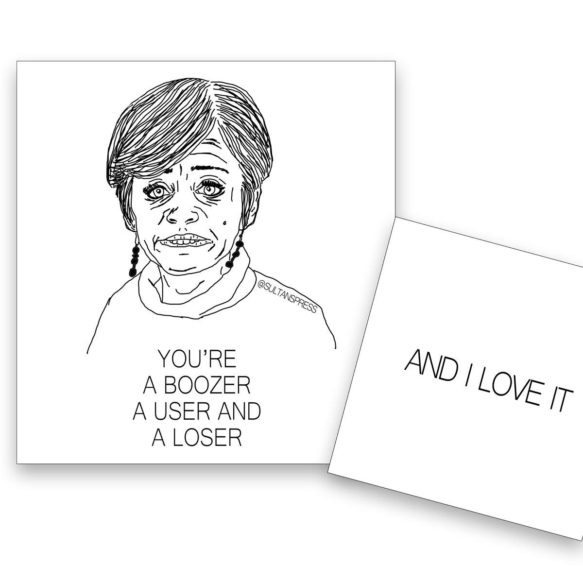 Image of Boozer Card