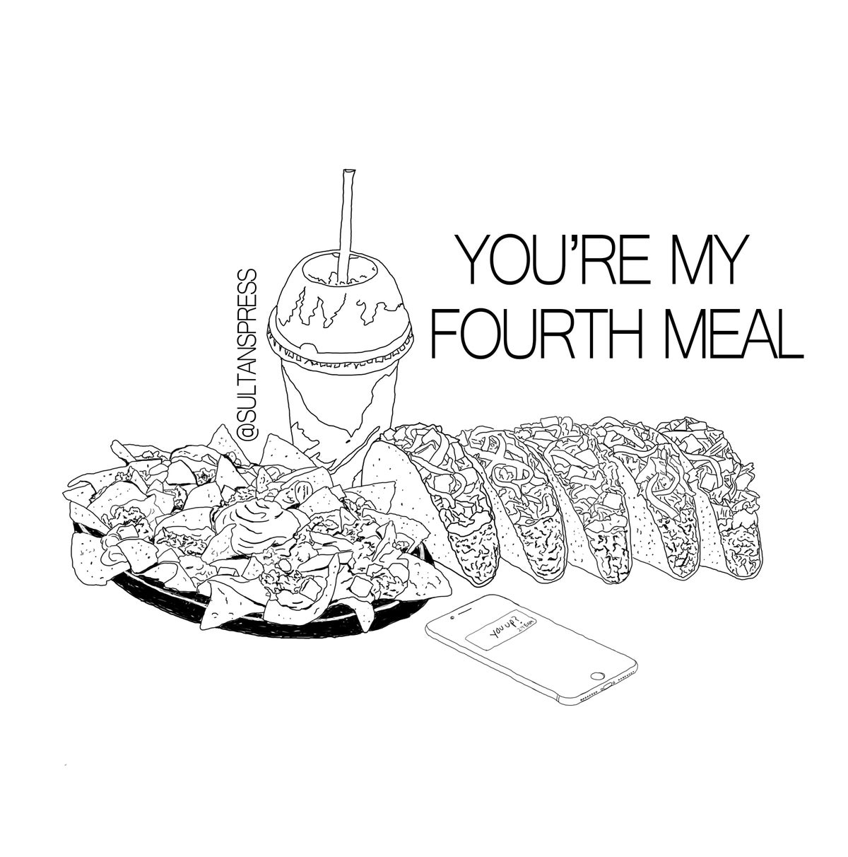 Image of Fourth Meal Card