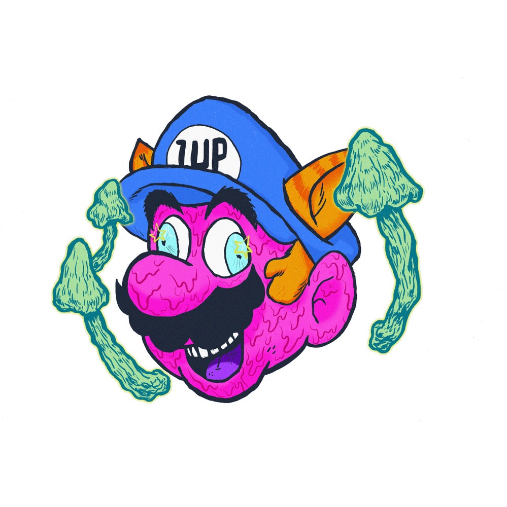 Image of 1UP Sticker