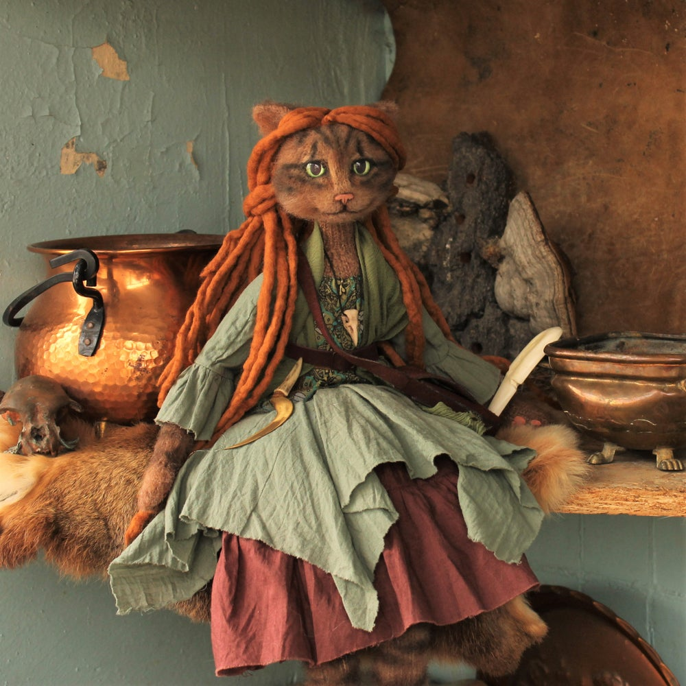 Image of Cat Boudoir Doll Lady Willow