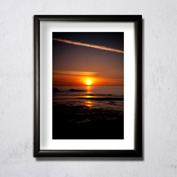 Image of Sunset Portrait A4/A3 photographic print