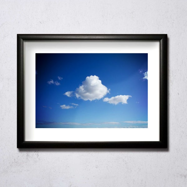 Image of Nice Cloud A4/A3 photographic print