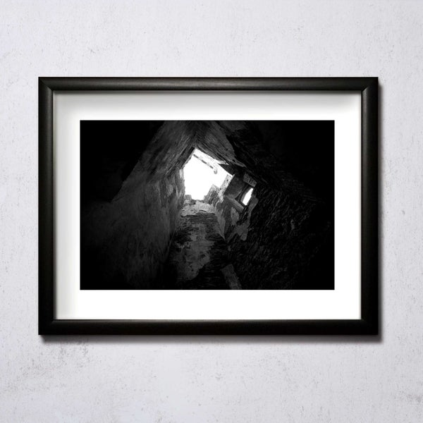 Image of Looking Up (Raglan Castle) A4/A3 photographic print
