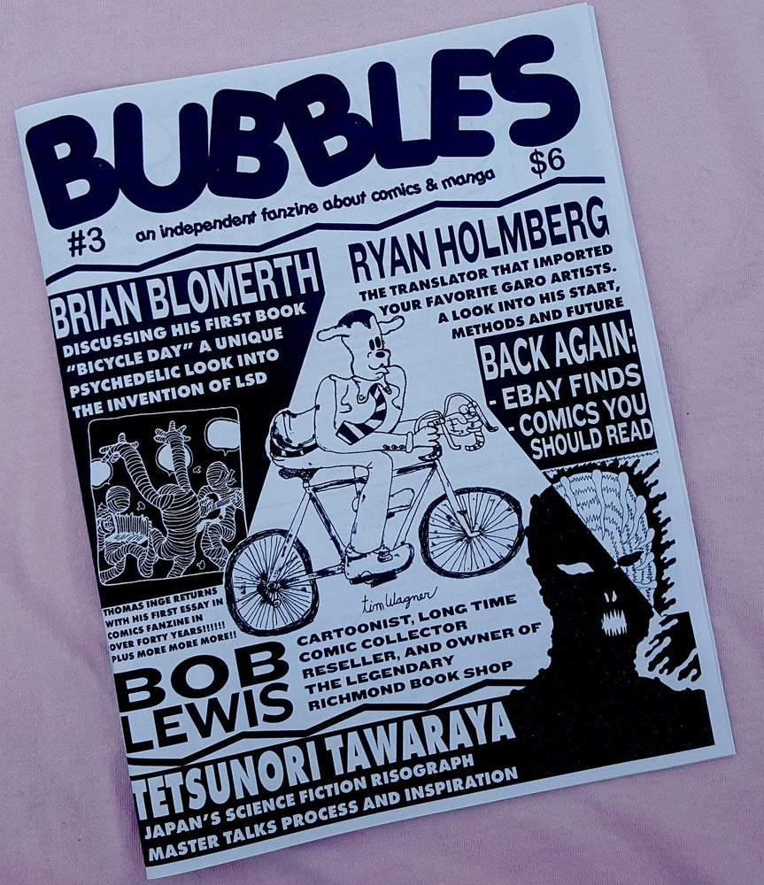 Image of Bubbles zine #3