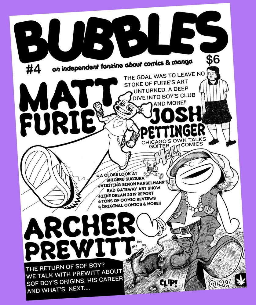 Image of Bubbles zine #4