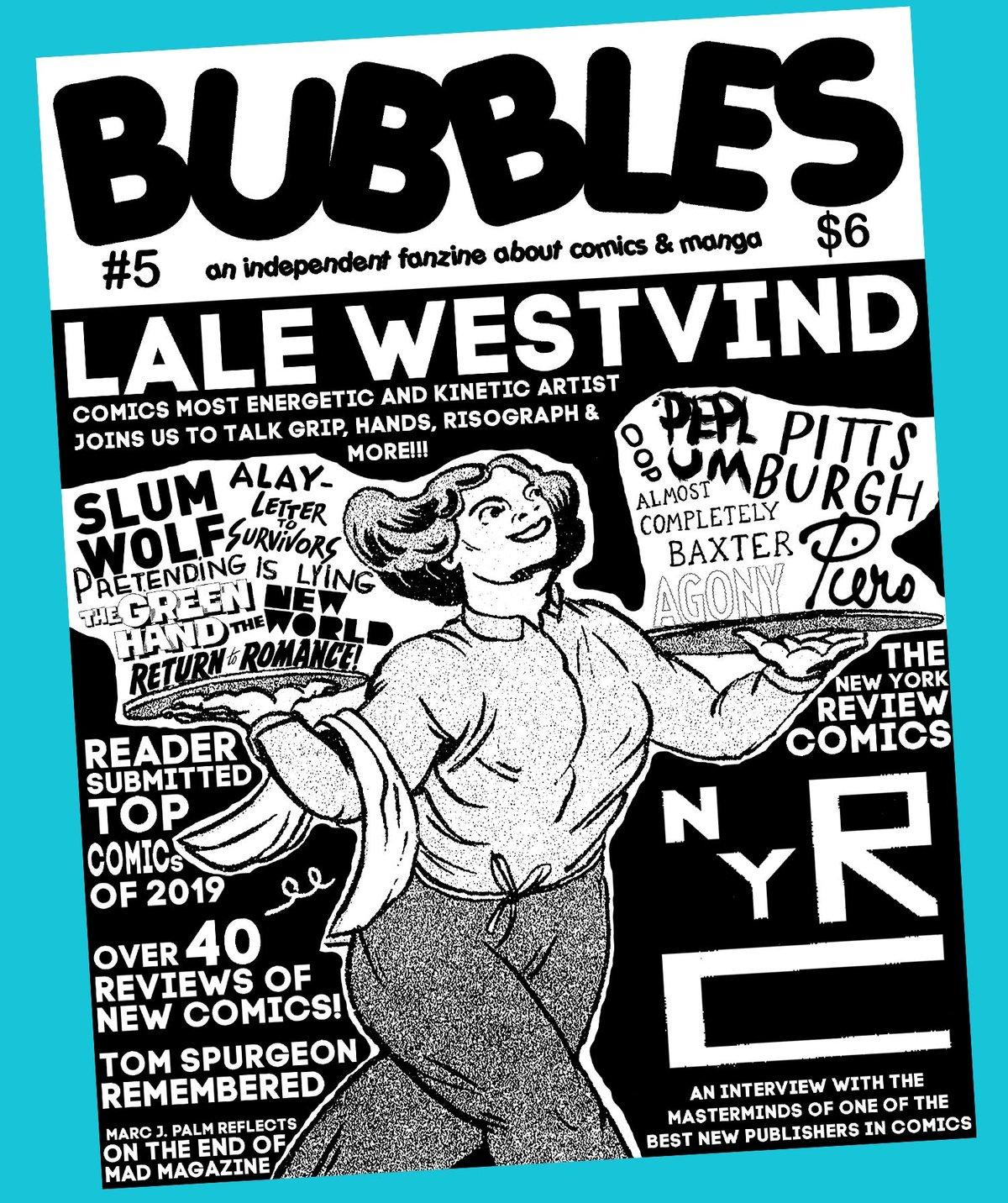 Image of Bubbles zine #5