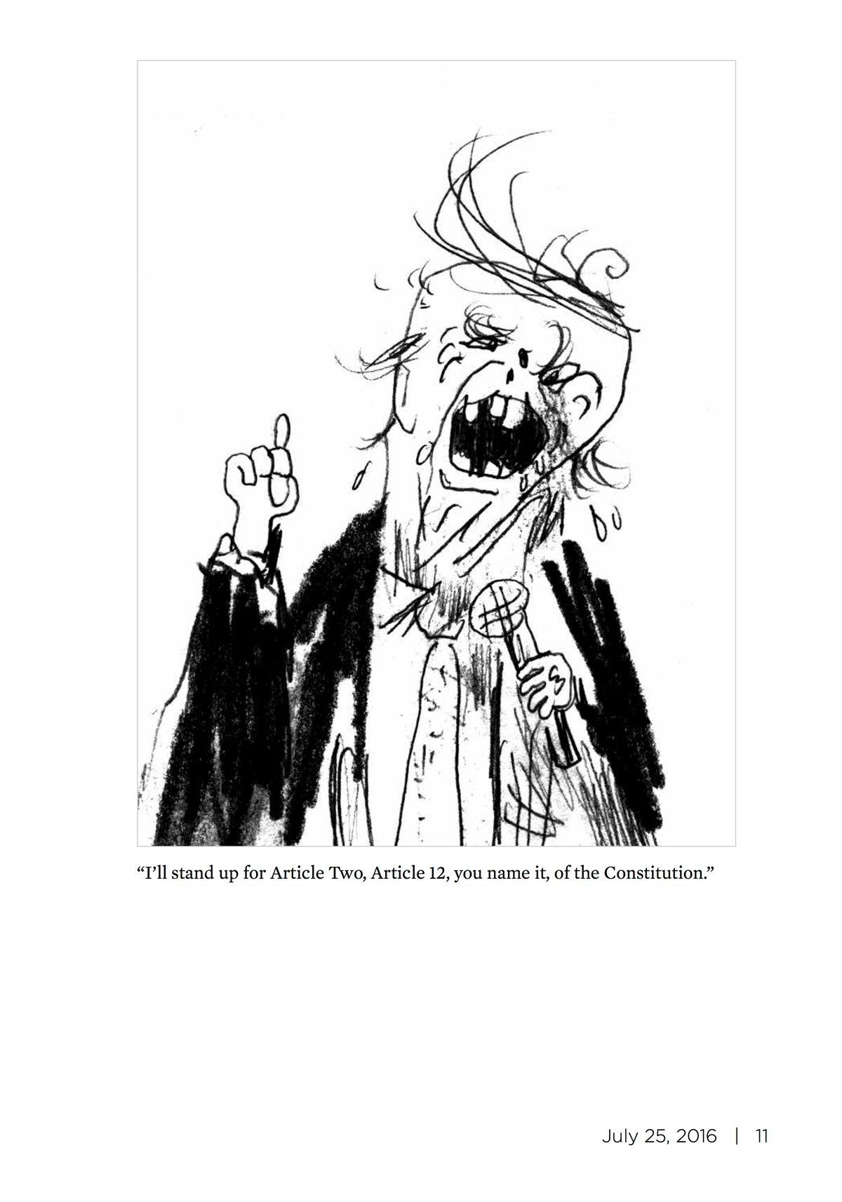 Image of TRUMPTRUMP #1 by Warren Craghead III
