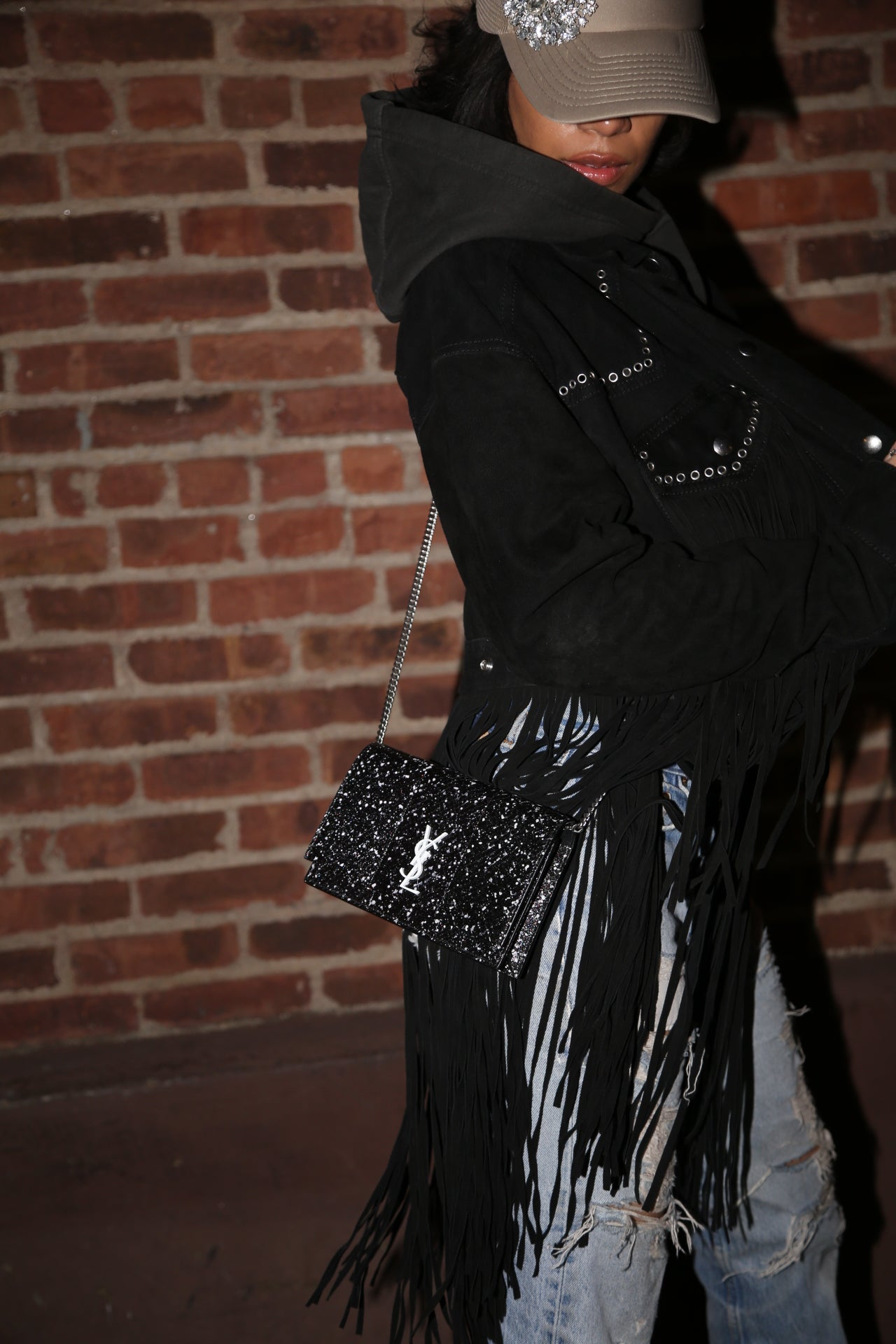 Image of SAINT LAURENT CROSSBODY BAG