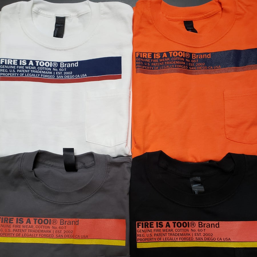 Image of LONG SLEEVE Tee's. 5 COLORS (no pocket)