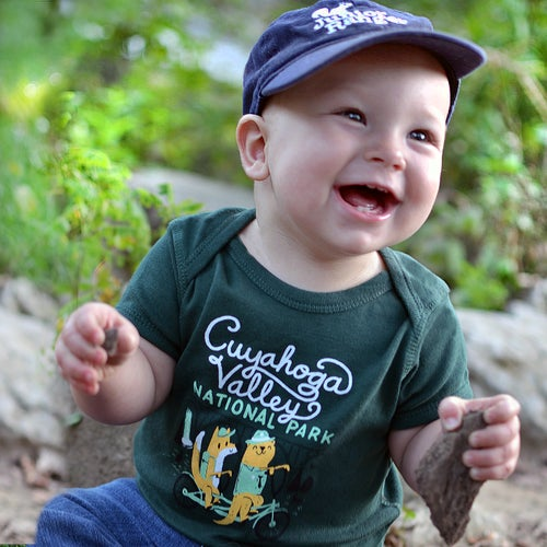 Image of EXCLUSIVE Cuyahoga Valley National Park Toddler Tee/Bodysuit