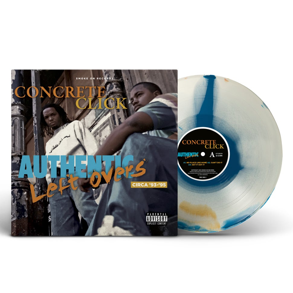 Image of Concrete Click – Authentic Left Overs The EP Vinyl