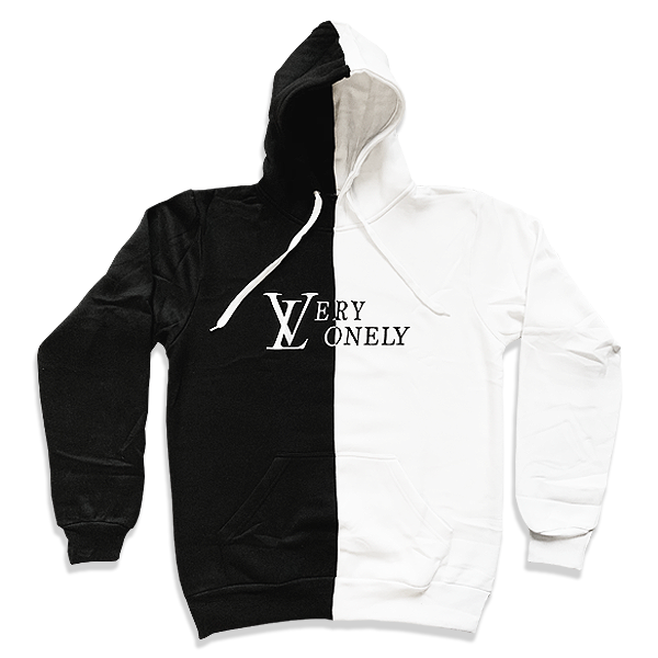 Image of VERY LONELY SPLIT HOODIE