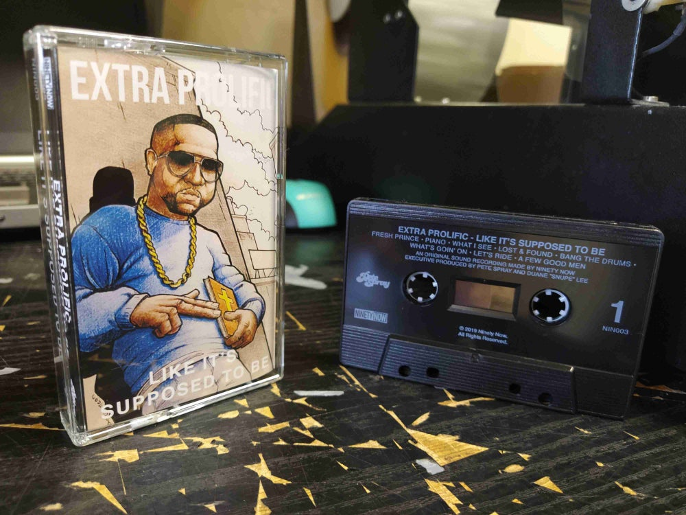 "Image of Extra Prolific ""Like It's Supposed To Be"" Cassette"