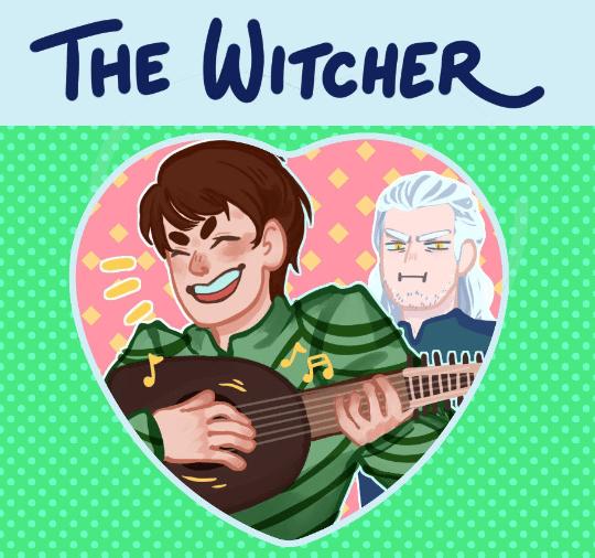 Witcher Heart Button!