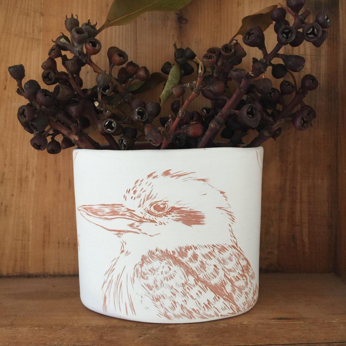 Image of Kookaburra Vase