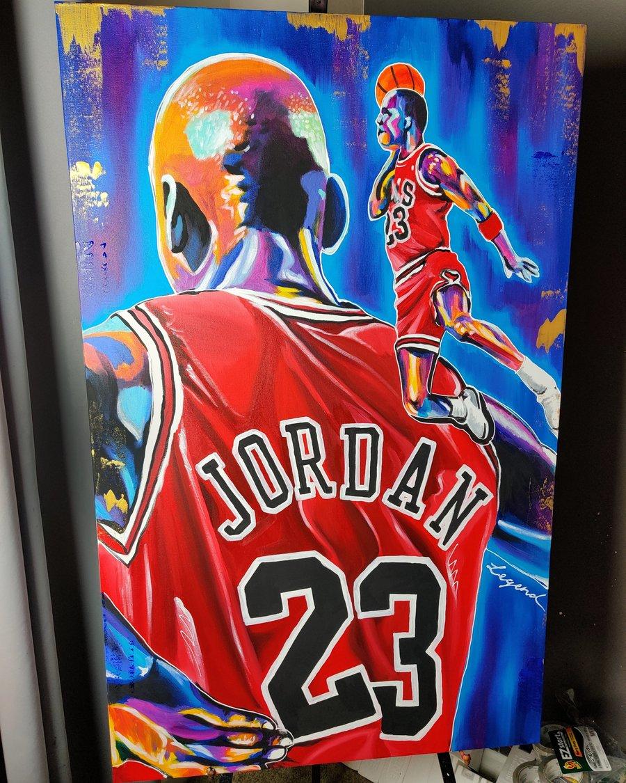 Image of Air Jordan - Canvas Print