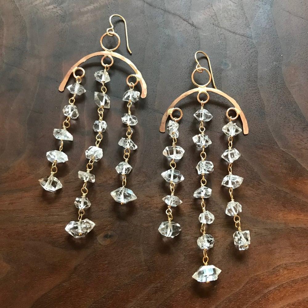 Image of Shower of Stars earrings