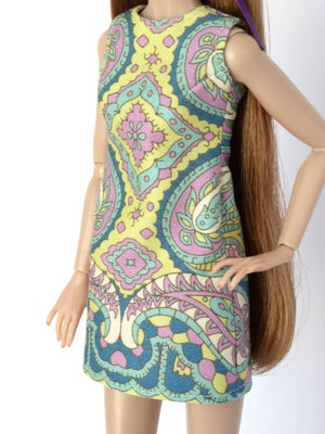 "Image of ""Candy Spring"" sleeveless dress for Poppy Parker or Barbie (see description)"