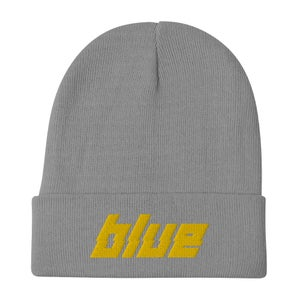 Image of '𝙗𝙡𝙪𝙚' Beanie (multiple colors)