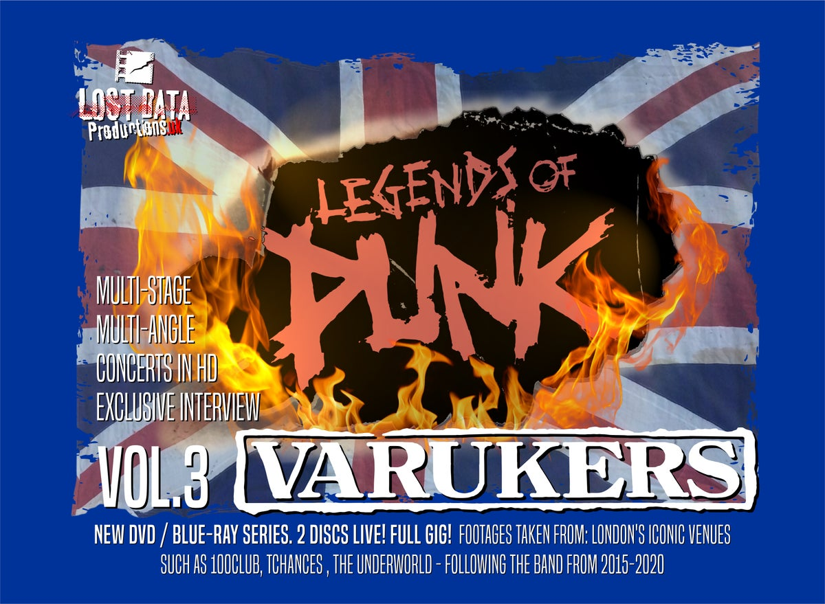 Image of Legends of Punk Vol.3 - The Varukers