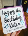 Personalised Cards Way with Words or Illustration