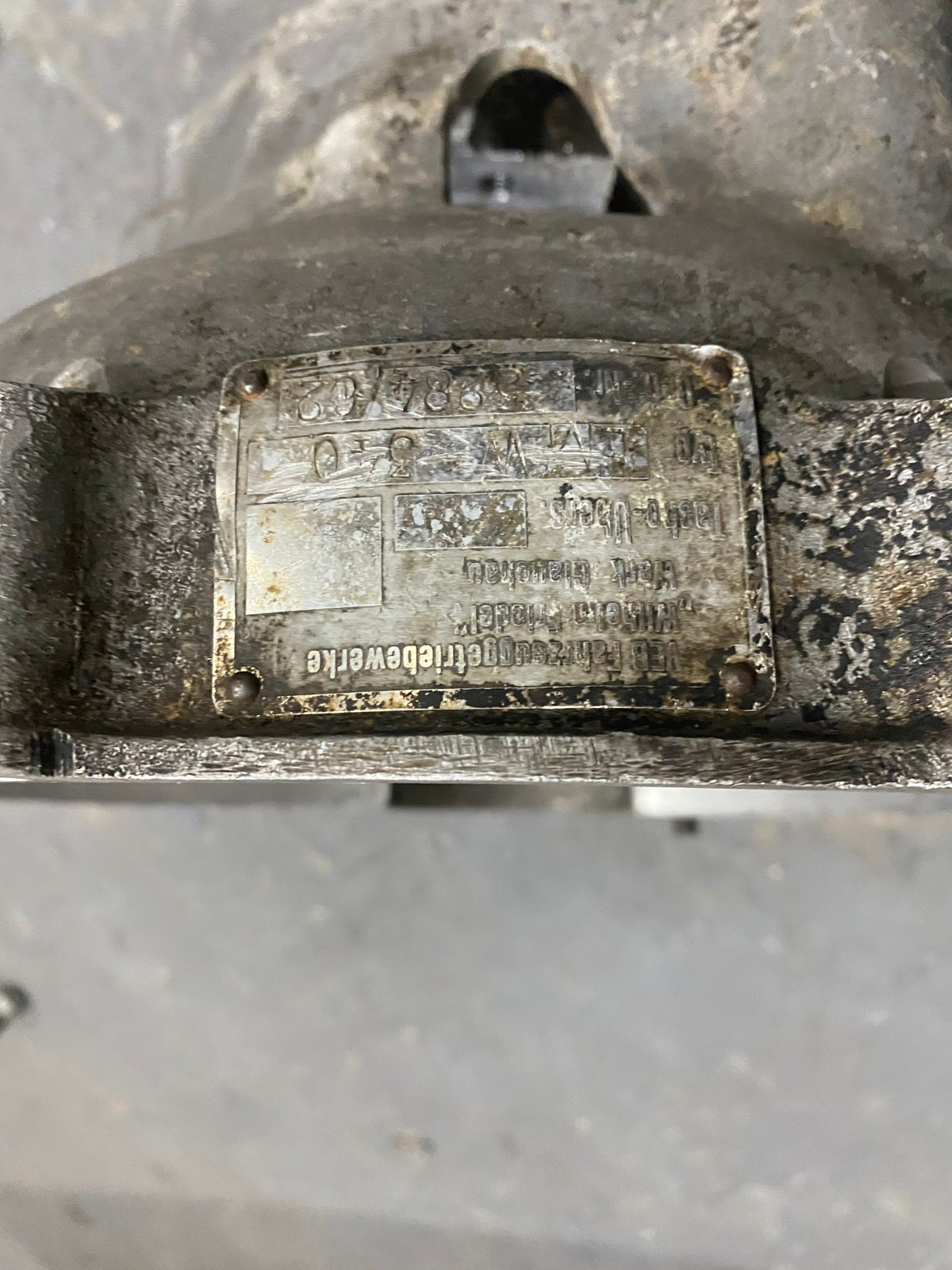EMW Bell Housing Hurth type