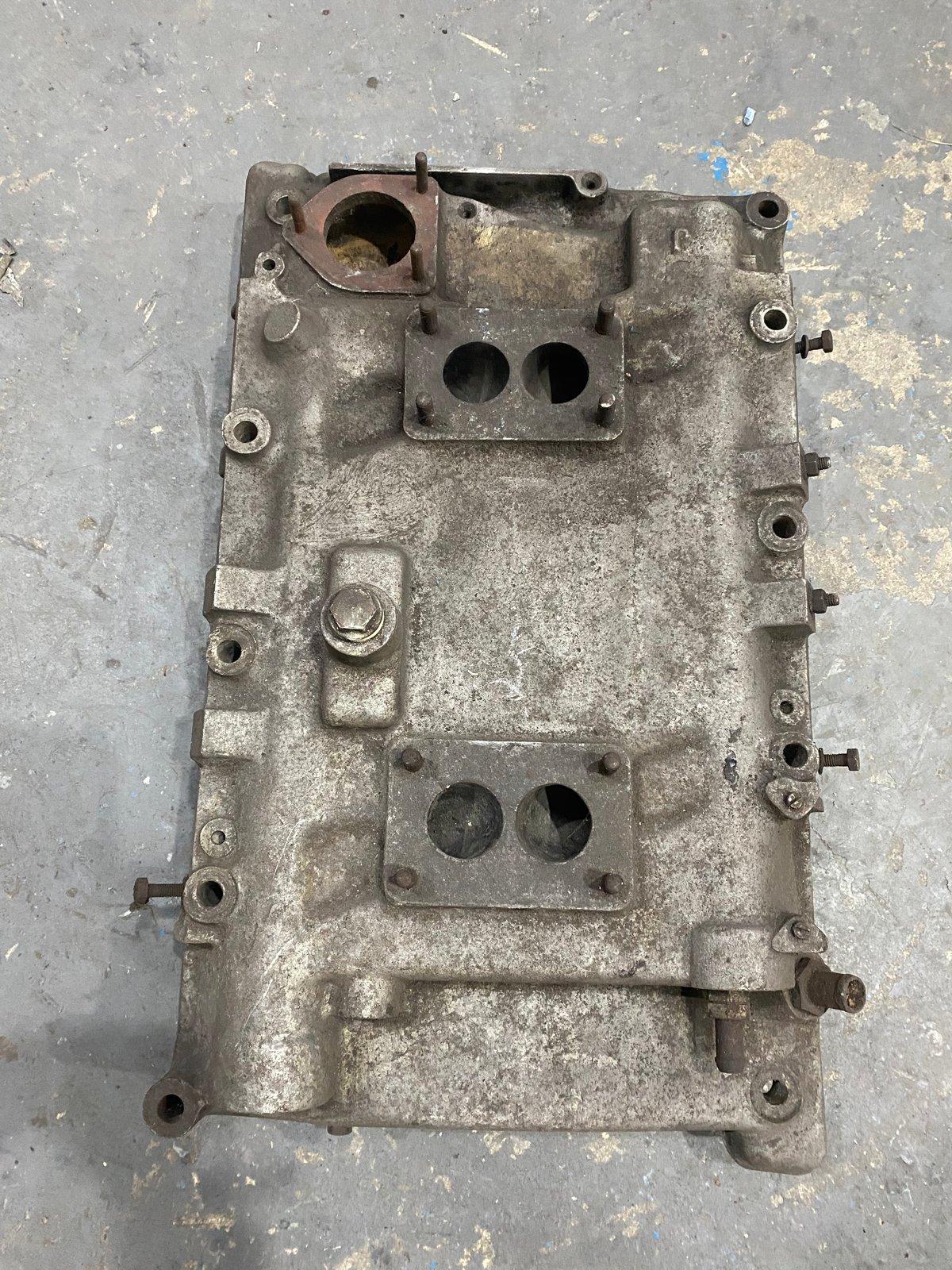 BMW 503/507 Duel Carburetor manifold