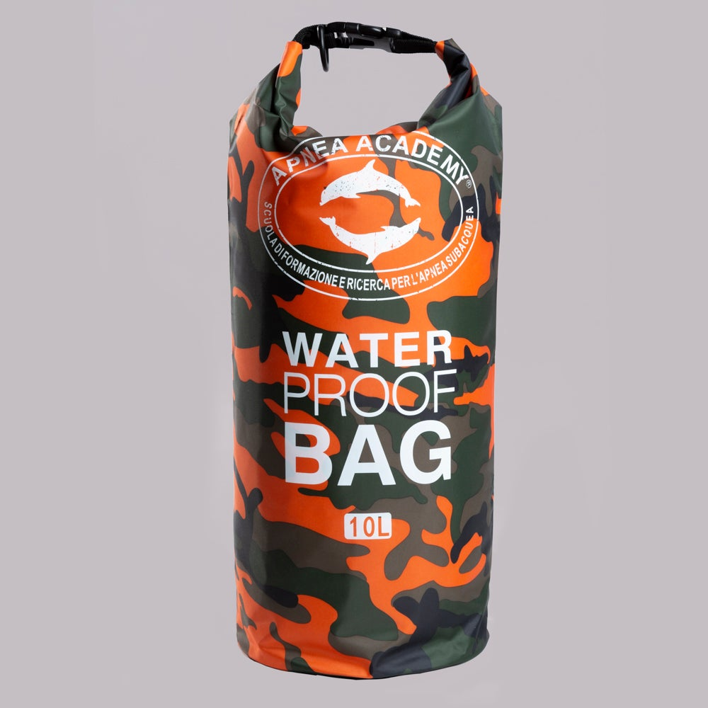 APNEA ACADEMY DRY BAG 10 L CAMO ORANGE