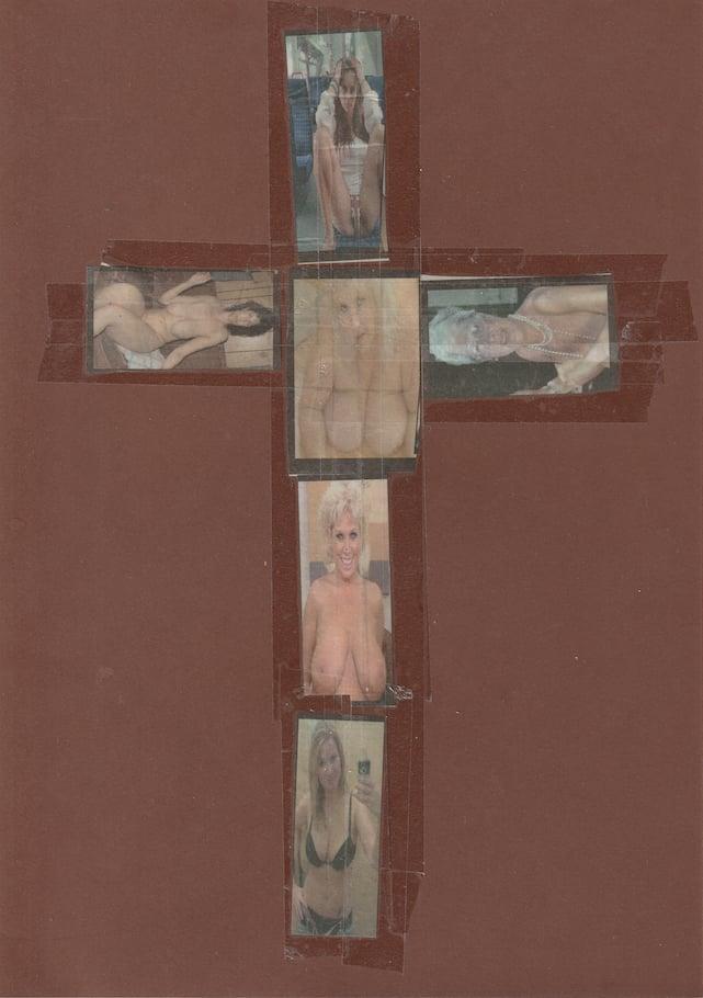 Image of 'Spiritus Sancti' Paper collage