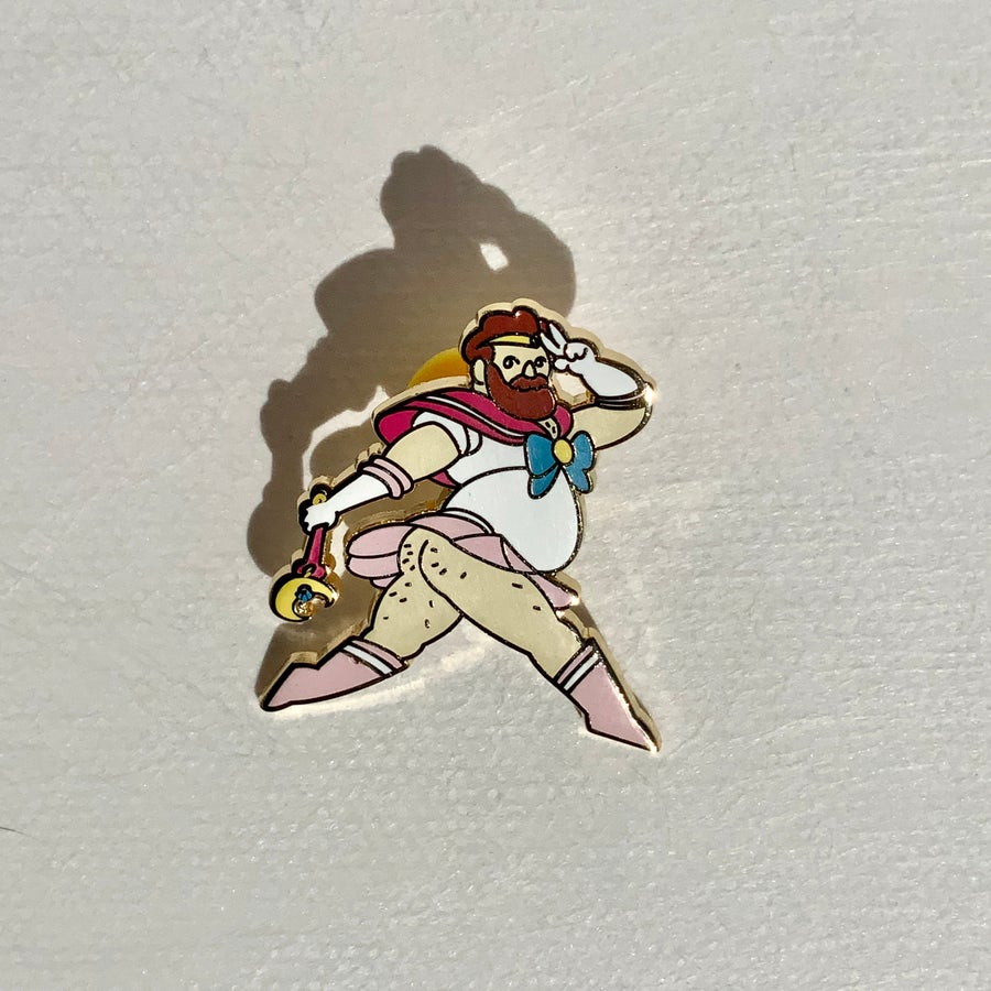 Image of Really Pretty Soldier Pin
