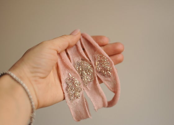 Image of Vintage appliqué headband