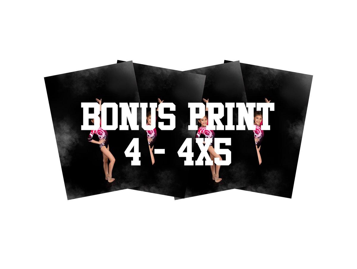 BONUS PRINTS - (4) 4X5