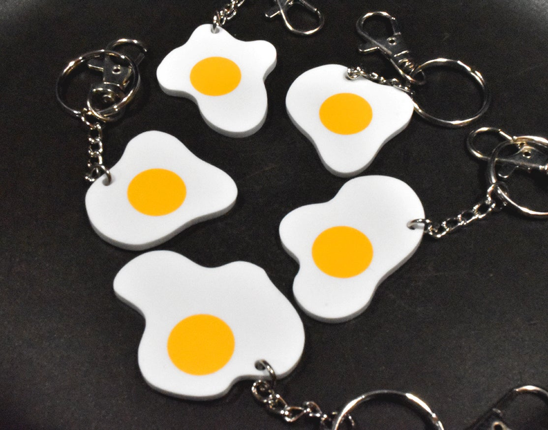 Image of Eggy Badges and keychains