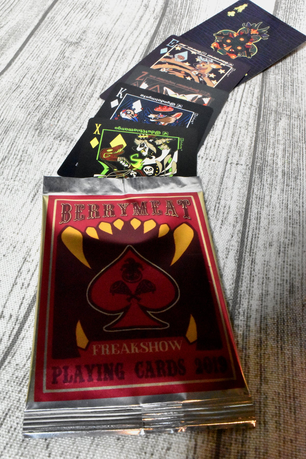 Image of Freakshow 2019 Trading Cards