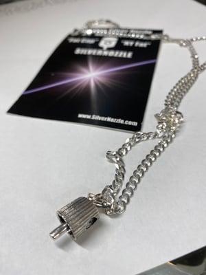 Silver Nozzle Sterling Silver Nozzle & Chain