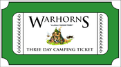 Image of Warhorns 2021 Three Day Camping Ticket